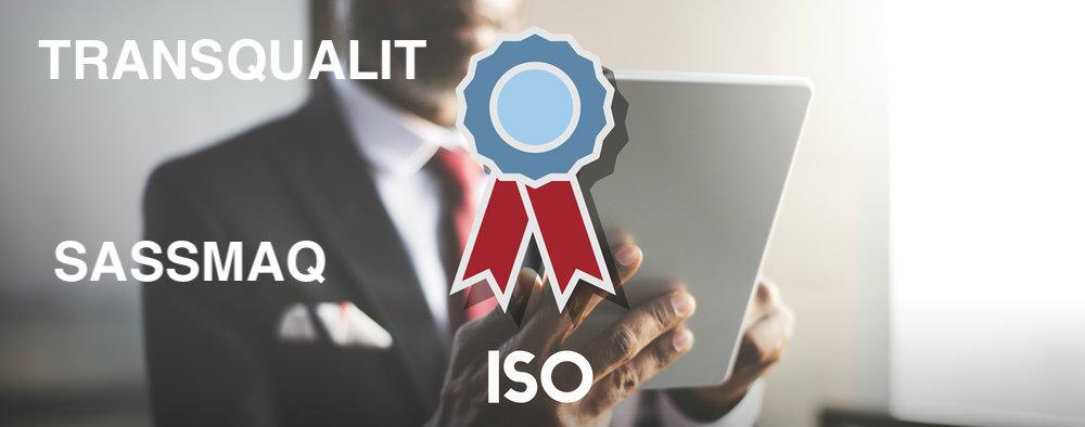 Conheça as certificações para transportadoras - Iso 9000, Transqualit e Sassmaq