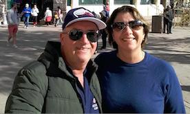 Foto Claudinei e Luiza - Extremo Sul Turismo